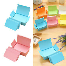 2 Boxes, Paper Blank Index Flash Cards DIY Greeting Pink & Blue