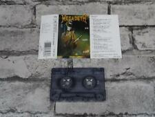MEGADETH - So Far So Good So What / Cassette Album Tape / 3834