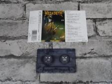 MEGADETH - So Far So Good So What / Cassette Album Tape / 3834