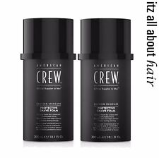 American Crew Shaving Skincare Protective Shave Foam 2 x 300ml Duo Pack