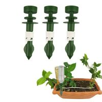 Plant Self Watering Spikes Adjustable Stakes System Vacation Garden Waterer 9-3X