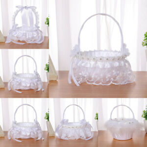 Elegant Wedding Supplies Flower Basket Simulation Petals Party Home Decor AU