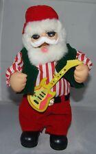 "Santa Claus Christmas Singing Animated Toy 12"" Dancing Jingle Bells Rock N Roll"