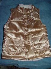 Wonder Kids Gold Metalic Vest Girls Size 4T