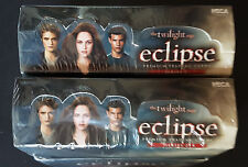 2x Twilight eclipse Series 2 trading cards Box (neca 2010) 24 packs/6 Cards