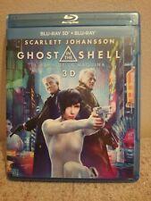Ghost In The Shell. Blu-ray 2d+3D.Scarlett Johanson