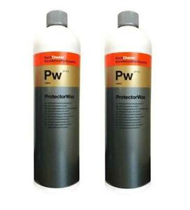 Koch Chemie Pw ProtectorWax Wachsversiegelung 1L 2er Set