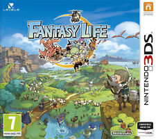 Fantasy Life (Nintendo 3DS, 2014) BRAND NEW FACTORY NINTENDO SEALED