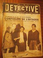 Revista Detective - N º 135-31 Janvier 1949 - EL HUÉRFANO DE L'Estaque