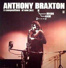 Anthony Braxton - Three Compositions of New Jazz - SEALED NEW LP Delmark