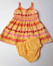 Gymboree Cotton Summer Dress w/Diaper Cover~Size 6-12 months