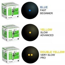 PRINCE REBEL SQUASH BALLS - DOUBLE AND SINGLE YELLOW DOT