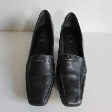 Clarks Black leather Court shoes size 6.5