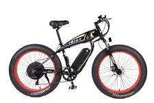 26 inch Electric Bicycle Fat Tire 1000W MTB Ebike 48V Li-ion Battery Black