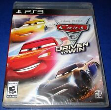 Cars 3: Driven to Win PlayStation 3 *Brand New! *Free Shipping!