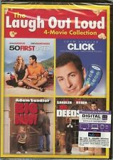 **BRAND NEW** LAUGH OUT LOUD 4-MOVIE COLLECTION: ADAM SANDLER