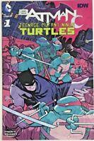 BATMAN TEENAGE MUTANT NINJA TURTLES#1 NM 2016  MIDTOWN VARIANT DC/IDW COMICS