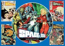 Space 1999 Comics On PC DVD Rom (CBR Format)