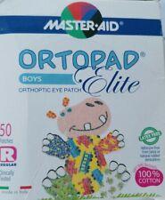 Ortopad Boys Elite Orthoptic Eye Patch Junior Size Box 48 Patches - Latex Free