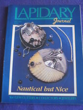 LAPIDARY JOURNAL - NAUTICAL BUT NICE - July 1989 v 43 # 4
