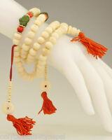 Nepals Kunst Gebetskette chapelet Schmuck Sommer Rosaire Buddhist Dharma 36b