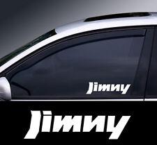 2 x SUZUKI JIMNY Fenêtre Autocollant Sticker Graphique choix de couleur * *