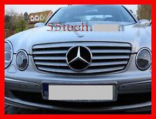 Mercedes W211 Grill E320 E500 E55 Grille CL E350 AMG Silver 2003~2006