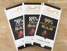 Ebay Deal Lindt Excellence Swiss Milk Dark Chocolate All 3  70%, 85% & 99%