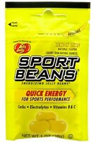 LEMON LIME Candy SPORT BEANS ~ Energizing ~ JELLY BELLY  FRESH