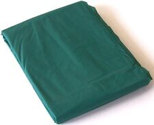 GREEN PVC Pool Snooker Billiard Table Cover for 7' ft foot Pub Size pool table