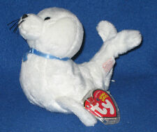TY ICING the WHITE SEAL BEANIE BABY - MINT with MINT TAGS