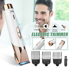 Rechargeable Mini Electric Hair Clippers Pusher Head Shaver Hair Trimmer Clipper