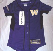 88c9c1b94 Washington Huskies Colosseum Athletics Youth Baseball Jersey Size Small 8-10
