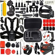 Go Pro Hero 4 5 Accessory Kit Session Sport Drive Ride Bike Camping Action GOPRO