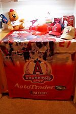 LOT OF 11 ANGELS GIVEAWAYS HAT BOBBLEHEAD KEYCHAIN BANNER NEW