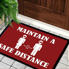 Social Distance Save Lives Floor Mat Practice Distance from Other to STOP CORONA