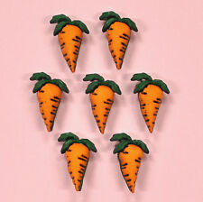 Buttons Galore Carrots 4093 -   Carrot Crop Embellishments Easter Dress it Up
