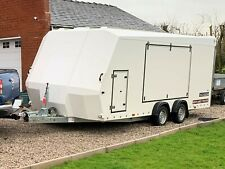 Enclosed car trailer Brian James Race Sport 340-5000