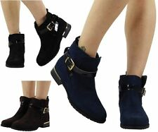 Buckle Casual Ankle Boots for Women