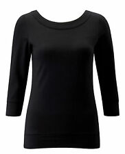 Crew Neck 3/4 Sleeve Casual Other Tops & Shirts for Women
