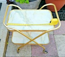 Gold Vintage/Antique Marble Drinks Trolley Mint Condition