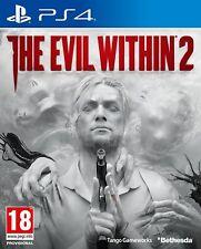 THE EVIL WITHIN 2 (PS4) NUOVO E SIGILLATO - in stock - SPEDIZIONE RAPIDA