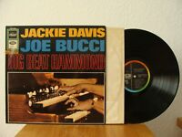 Jackie Davis Joe Bucci Big Beat Hammond LP RAR Vg+