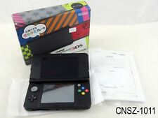 Japanese Nintendo New 3DS Console Black System Japan Import v11.0.0 US Seller
