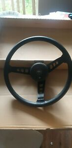 MITSUBISHI CHRYSLER GALANT 1969 TO 1977 SPORTS STEERING WHEEL WITH HORNPAD