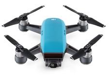 Brand new DJI Spark mini drone camera quadcopter fpv hd 720p 1080p 12MP blue