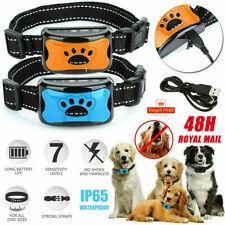 More details for rechargeable anti bark collar stop dog barking sound&vibration s/m/l adjustable
