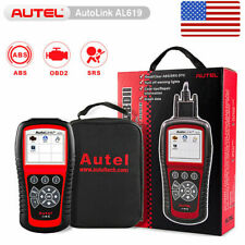 Autel Autolink AL619 OBD2 Engine ABS Airbag SRS Light Reset Car Diagnostic Tool
