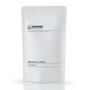 Cardo Mariano 2700 mg, Comprimido, silimarina, la salud del hígado, Antioxidante
