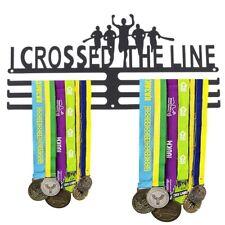 Medals Hanger Display Wall Holder Rack Sport Race Gym Bib Half Marathon Running